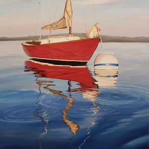 O'Day-Sprite-in-Boothbay-Harbor-40x30-AFP